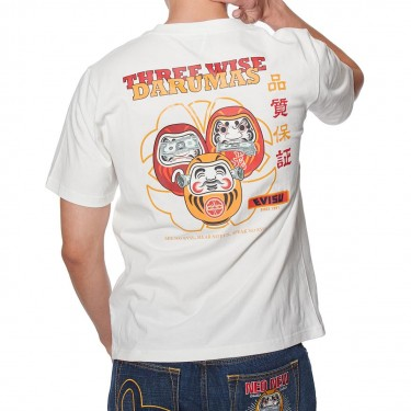 T-shirt Evisu Three Wise Darumas et Seagull