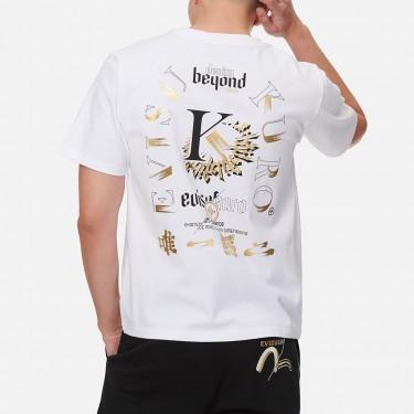 T-shirt à imprimé graphique Evisu