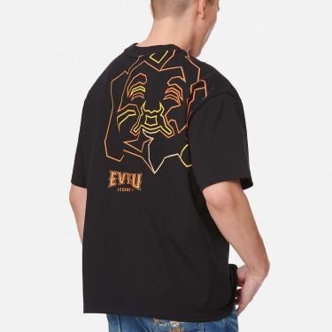 T-shirt imprimé Evisu Outline Godhead
