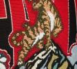 Kenzo Femme Cabas Jungle 'Tiger Mountain' multicolore