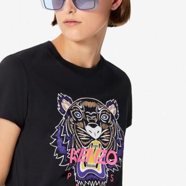 Kenzo Femme T-shirt Tigre noir