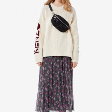 Kenzo Femme Pull en laine épaisse KENZO paris ecru