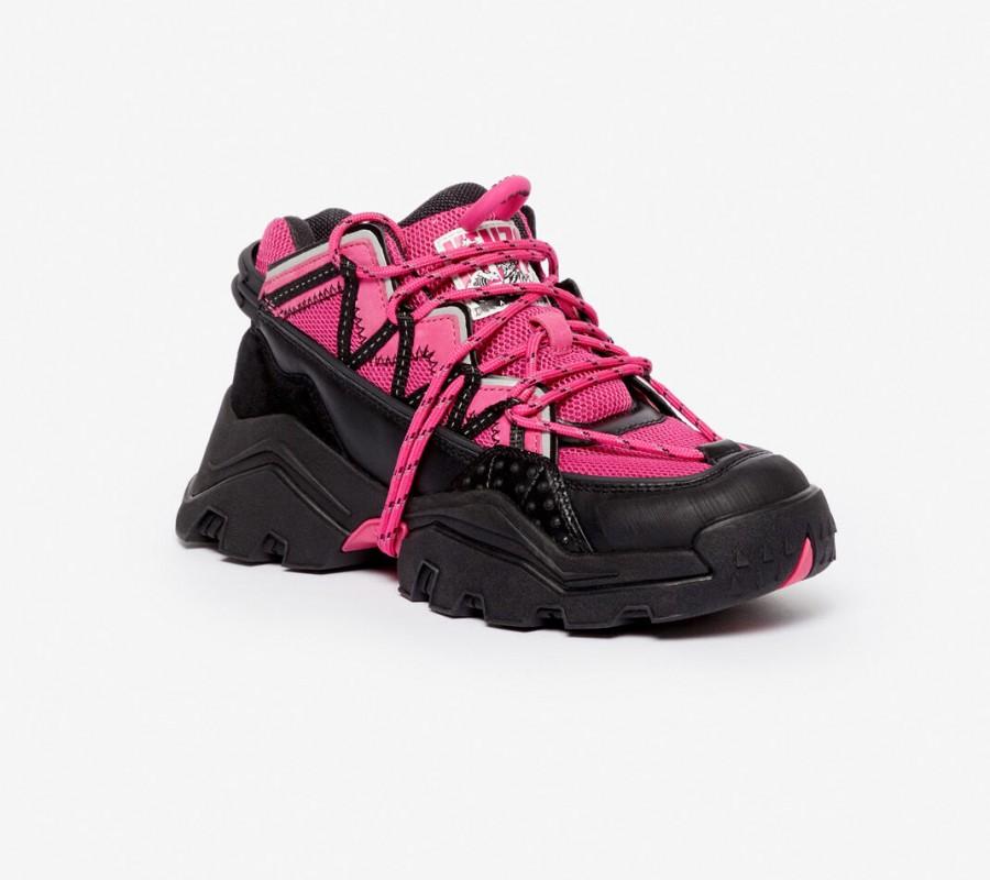 Kenzo Femme Baskets Inka rose begonia