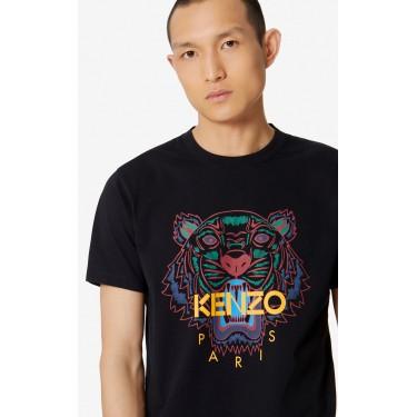 Kenzo Homme T-shirt Tigre noir