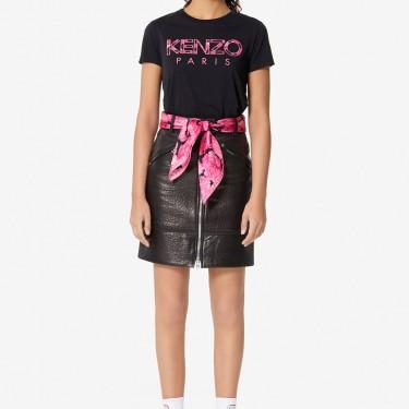 Kenzo Femme T-shirt KENZO Paris 'Peonies' noir