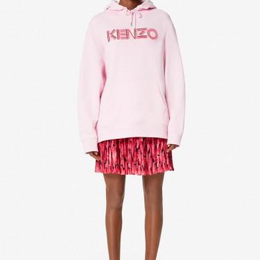 Kenzo Femme Sweatshirt à capuche KENZO Paris 'Hiking' rose pastel