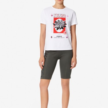 Kenzo Femme T-shirt 'Rice Bags' blanc