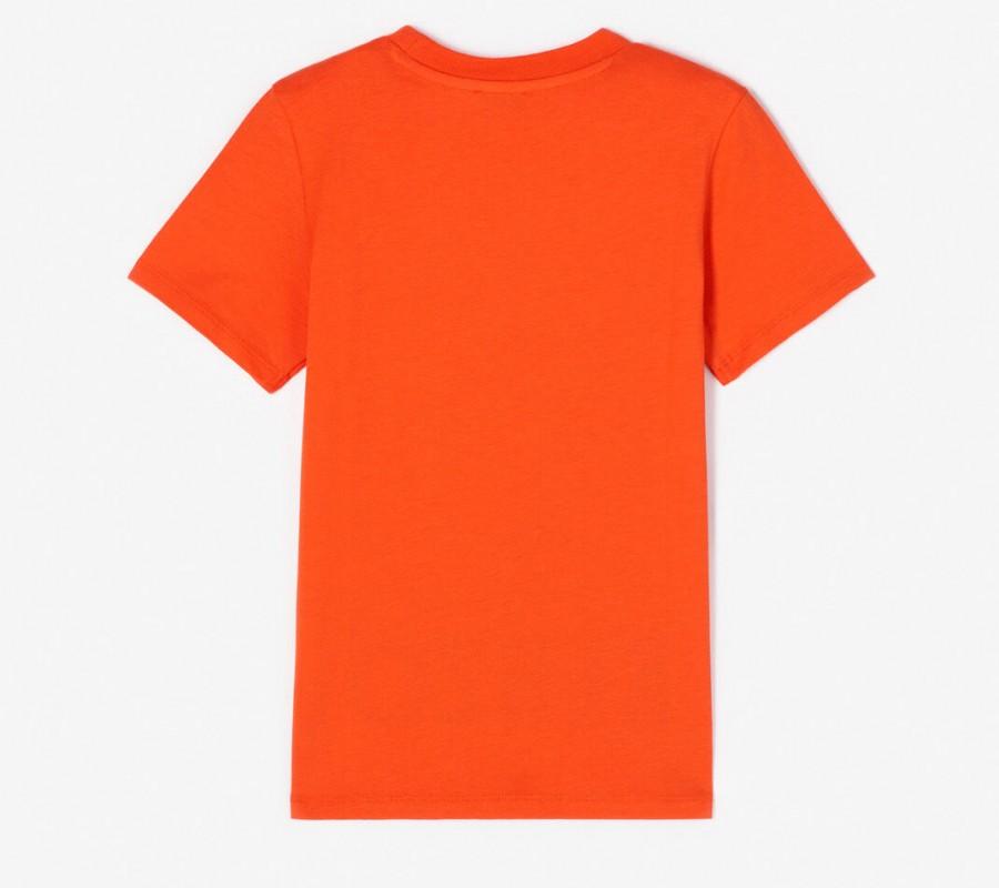 Kenzo Enfant 'Japanese Dragon' T-shirt orange moyen
