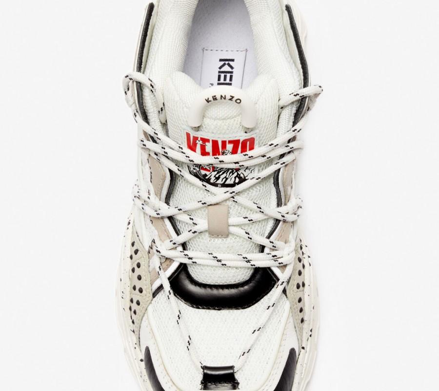 Kenzo Femme Baskets Inka gris clair