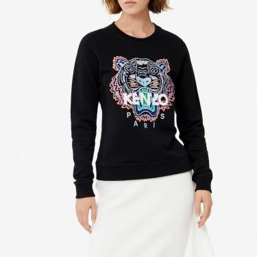 Kenzo Femme Sweatshirt Tigre noir