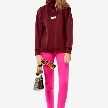 Kenzo Femme Sweatshirt 'Expedition' bordeaux