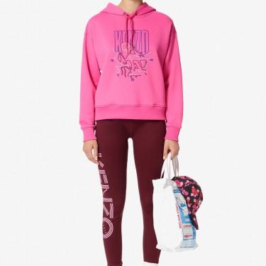 Kenzo Femme Sweatshirt à capuche 'KENZO Mountain' rose begonia