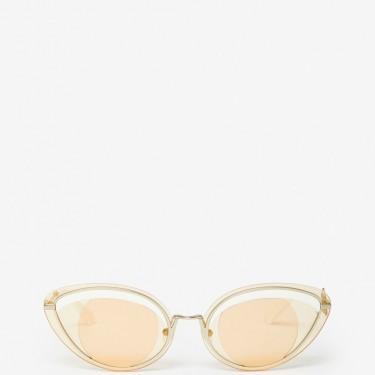 Kenzo Femme Lunettes de soleil Eye blanc