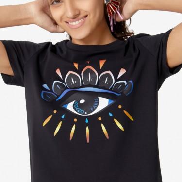 Kenzo Femme T-shirt Eye dégradé noir