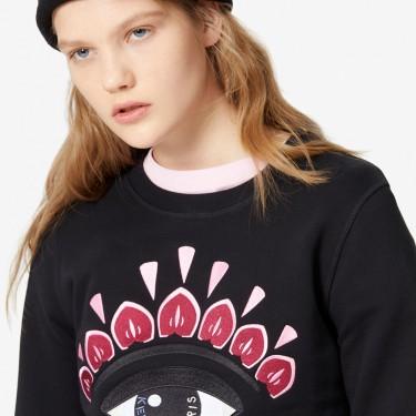 Kenzo Femme Sweatshirt Eye noir