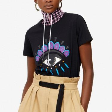 Kenzo Femme T-shirt Eye noir