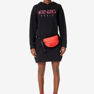 Kenzo Femme Mini sac ceinture avec broderie Tigre rouge moyen