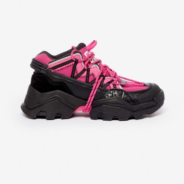 Kenzo chaussure Baskets Inka rose begonia