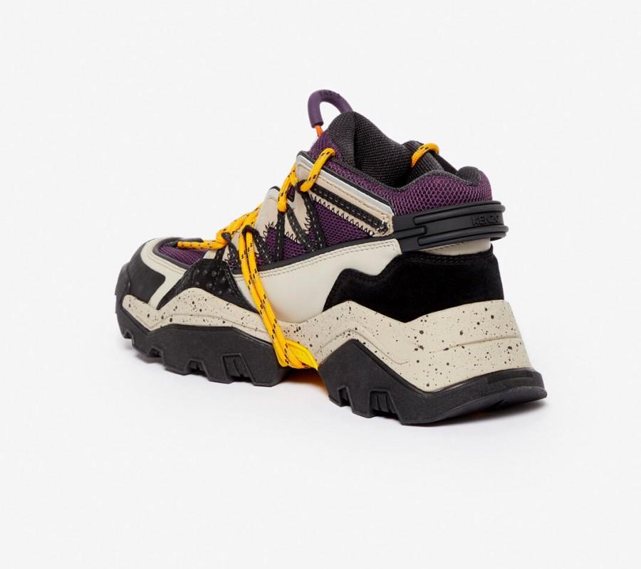 Kenzo chaussure Baskets Inka cassis
