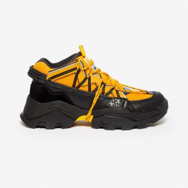 Kenzo chaussure Baskets Inka jaune orange