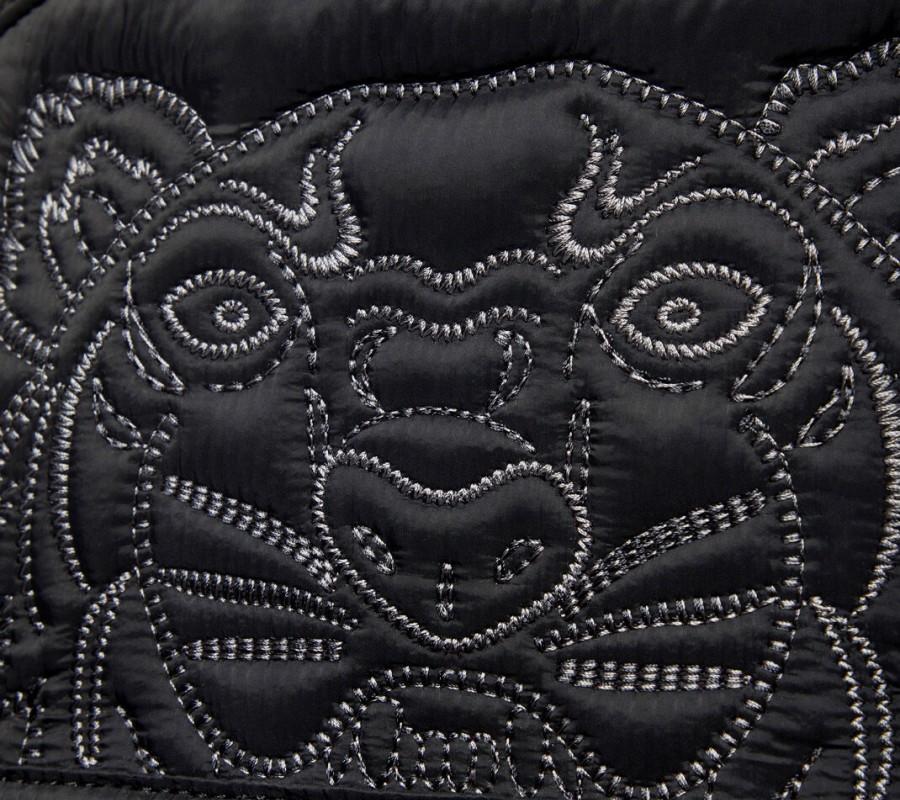 Kenzo Sac Femme Grand sac à dos Tigre 'Kampus' noir