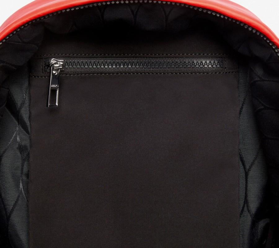 Kenzo Sac Femme Grand sac à dos Tigre 'Kampus' rouge moyen