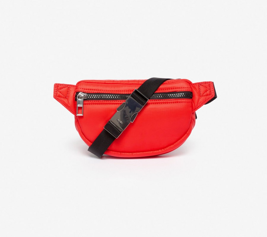 Kenzo Sac Femme Mini sac ceinture avec broderie Tigre rouge moyen