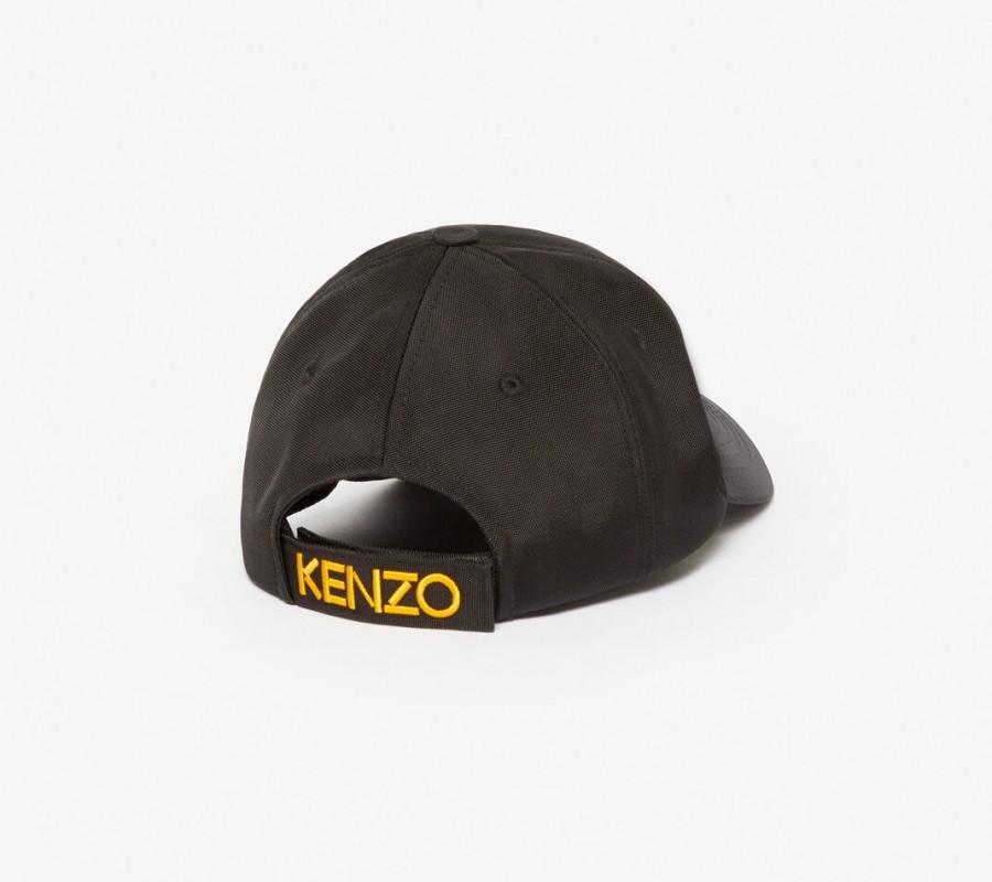 Kenzo Accessoires Casquette Canvas Tigre noir