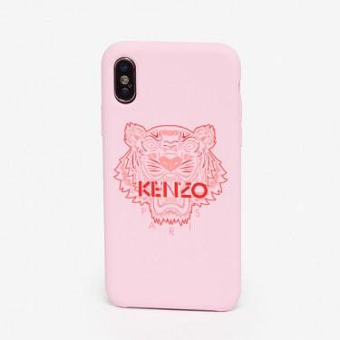 Kenzo Accessoires Coque iPhone X/XS Tigre rose pastel