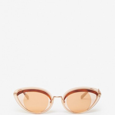 Kenzo Accessoires Lunettes de soleil Eye marron clair